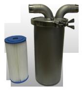 Single Filter Vessel